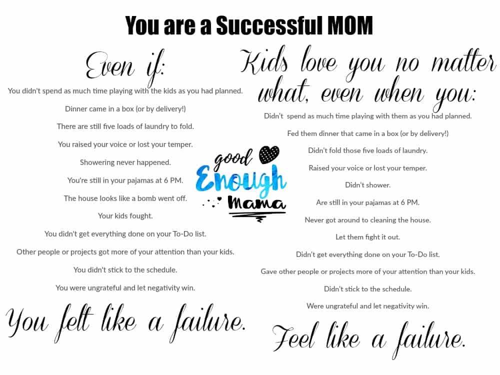 You are a Successful Mom Quote